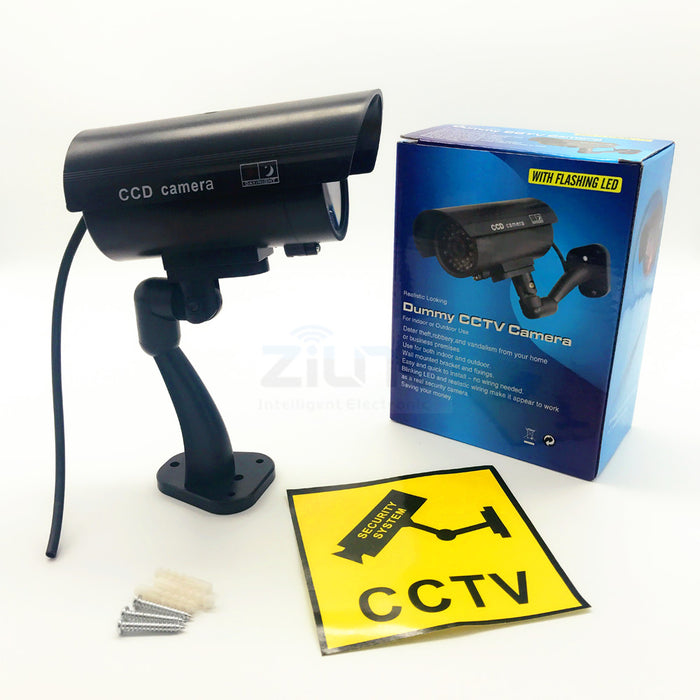 Fake Dummy Camera Bullet Waterproof Outdoor Indoor Security CCTV Surveillance Camera - JJslove.com