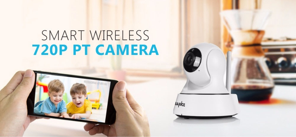 SANNCE Home Security IP Camera Wi-Fi Wireless Mini Network Camera - JJslove.com
