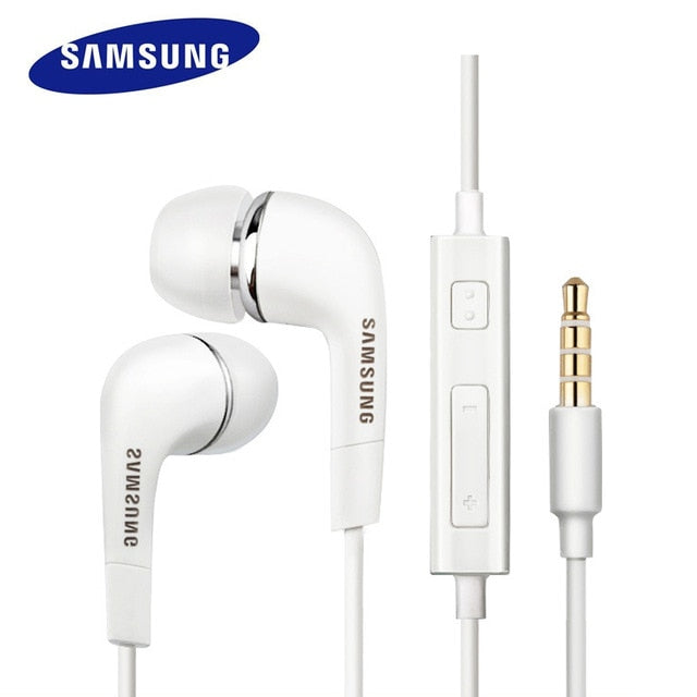 SAMSUNG Original Earphone EHS64 Wired 3.5mm In-ear with Microphone for Samsung Galaxy S8 S8Edge Support Official certification - JJslove.com