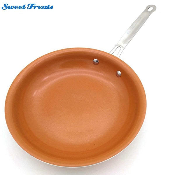 Sweettreats Non-stick Copper Frying Pan with Ceramic Coating and Induction cooking - JJslove.com