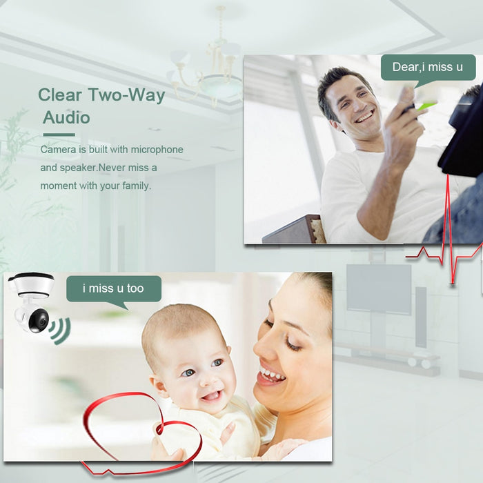BESDER Home Security IP Camera Wireless Smart WiFi Camera - JJslove.com