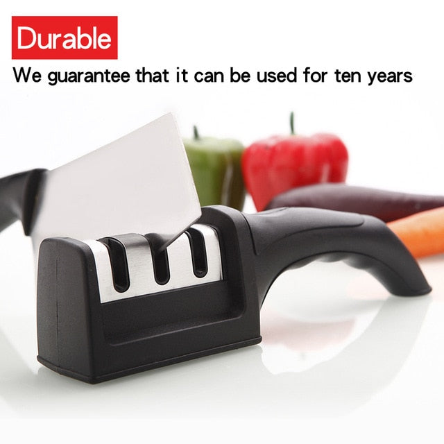 Dropshipping Knife Sharpener Quick Sharpener Professional 3 Stages Sharpener Knife - JJslove.com