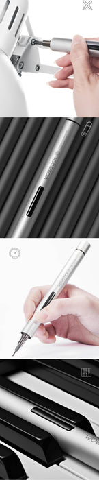 Original XIAOMI Mijia Wowstick Try 1P+ 19 In 1 Electric Screw Driver Cordless Power work - JJslove.com