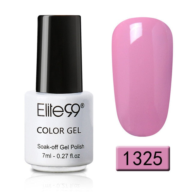 A| Elite99 7ml Pure Color Gel Nail Polish 7ml UV Gel Polish - JJslove.com