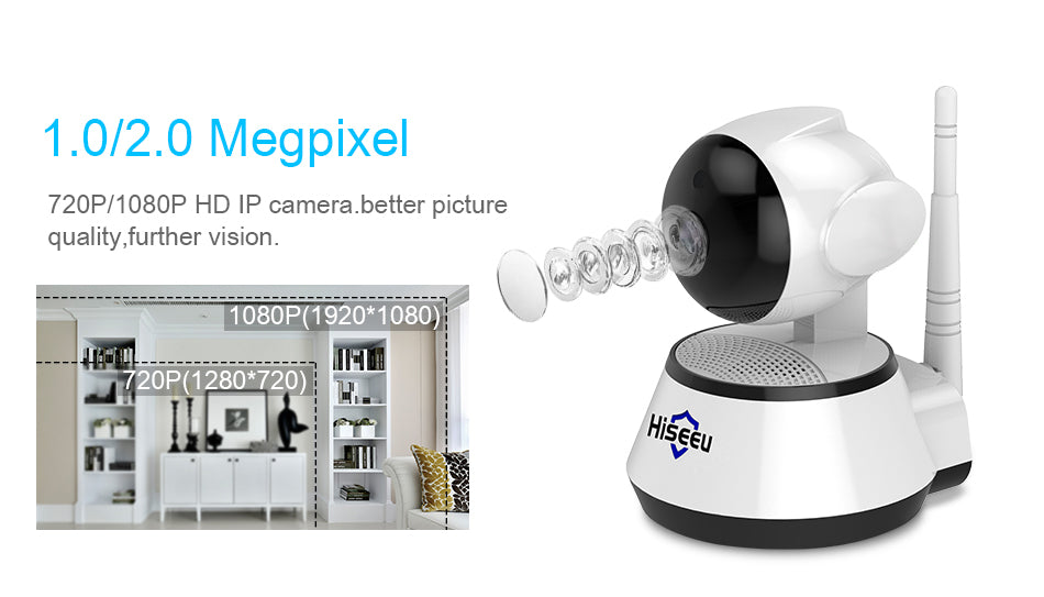 Home Security IP Camera Wireless Smart WiFi Camera - JJslove.com