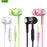 VPB S12 Sport Earphone wholesale Wired Super Bass 3.5mm Crack Colorful Headset Earbud with Microphone Hands Free for Samsung - JJslove.com