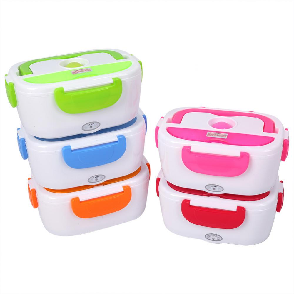Electric Heating Lunch Box Portable Kids Food Container Thermos Lunchbox Bento Box - JJslove.com