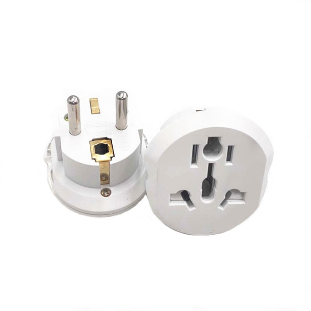 AUKTION Universal EU Plug Adapter 16A Electrical Plugs International Power Socket Converter - JJslove.com