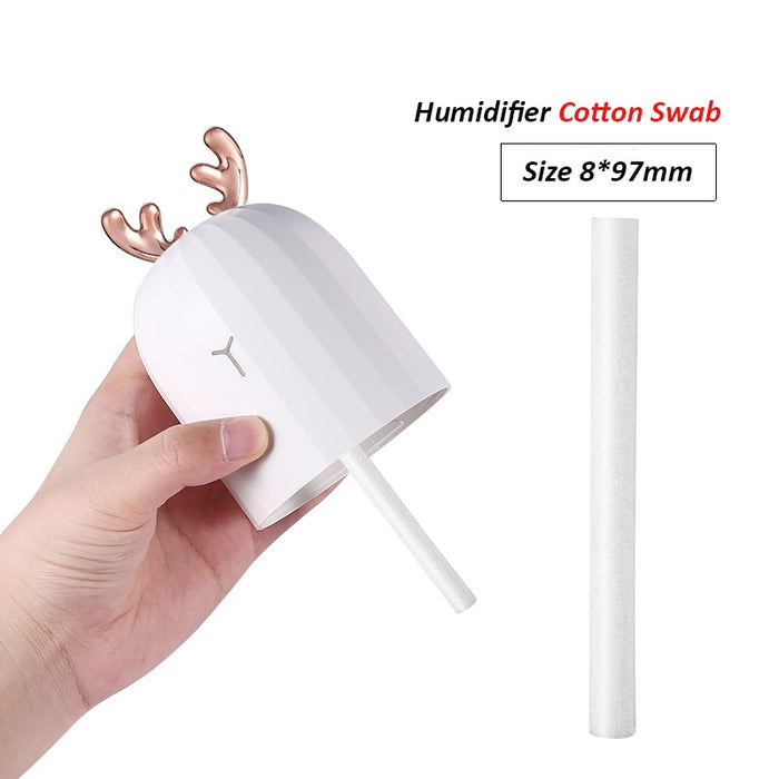 10 Piece 8mm*97mm Air Humidifiers Filters Cotton Swab for Car Home Ultrasonic Humidifier - JJslove.com