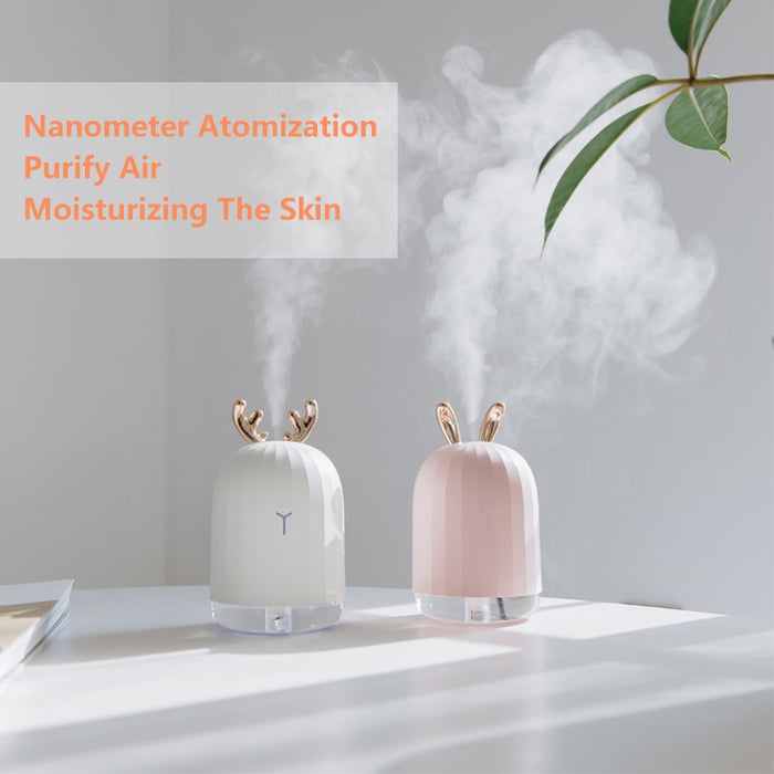 High Quality 220ML Ultrasonic Air Humidifier Aroma Essential Oil Diffuser for Home - JJslove.com