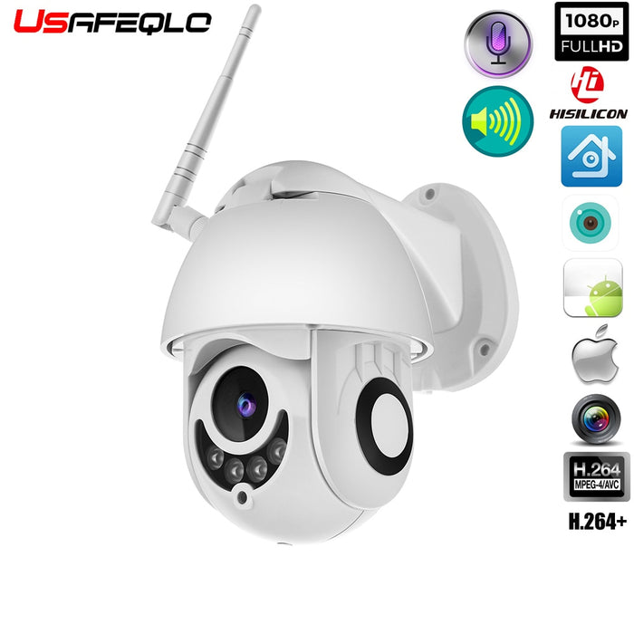 WIFI Camera Outdoor PTZ IP Camera 1080p Speed Dome CCTV Security Cameras IP Camera - JJslove.com