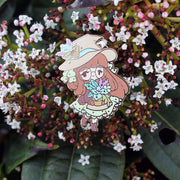 Herbology Witch Pin - April 2019