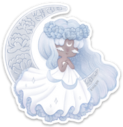 Moon Princess Sticker