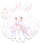 Pastel Priest Sticker