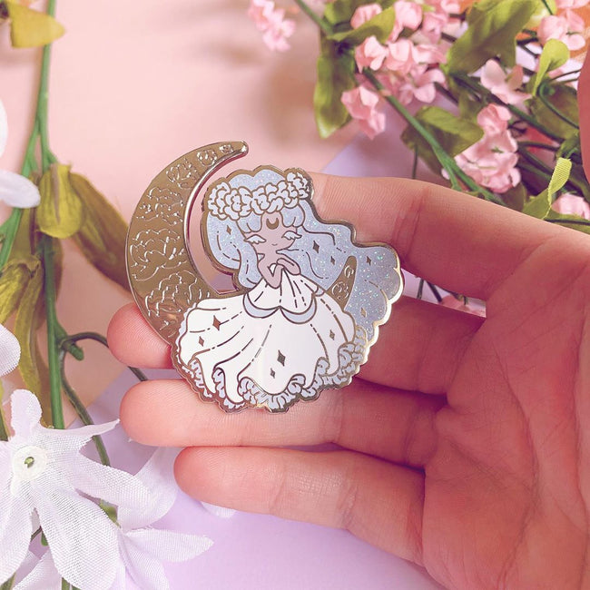 Pin Vault 🖤 Moon Princess Pin - Sept 2019