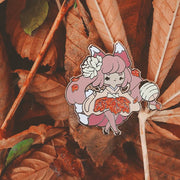 Autumn Kitsune Pin - Oct 2019