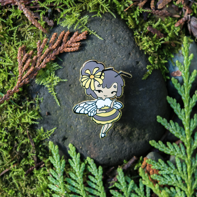 Bee Fairy Pin