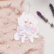Pastel Lion Knight Sticker