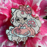 Red Kitsune Recolor Pin - Limited Edition