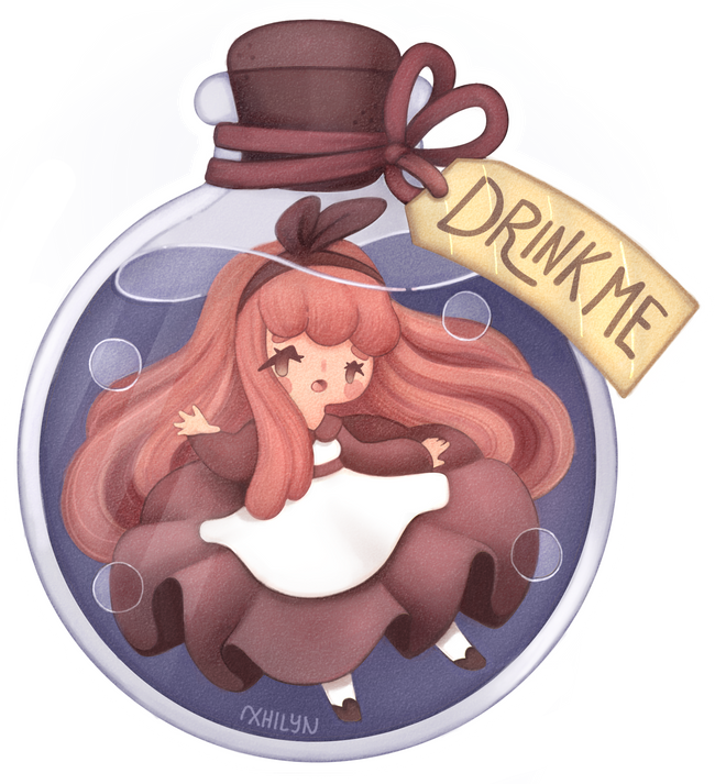 Little Alice Sticker