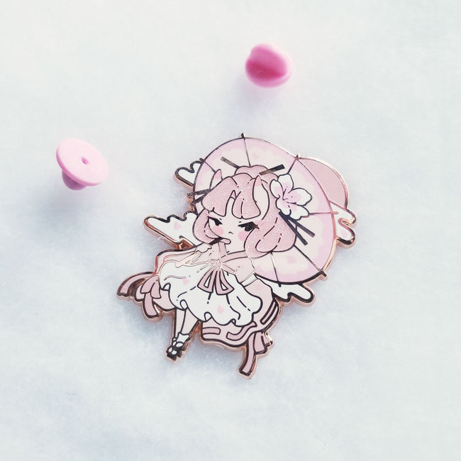 Oni Girl Recolor Pins - Limited Edition