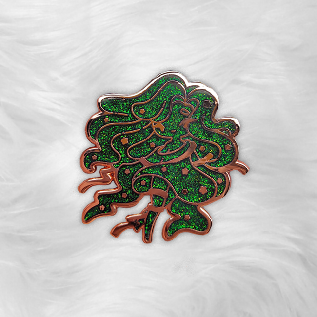 Aurora Oopsiealis Pin ~ LE Black Friday Exclusive