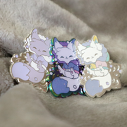 Snow Fox Recolor Pins ~ Limited Edition