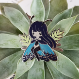 Amazon Blue Morphos Charity Pin