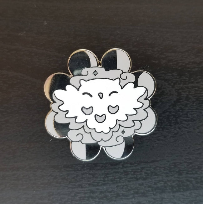 Owl Cloud Pin