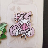 Orchid Mantis Fairy Pin