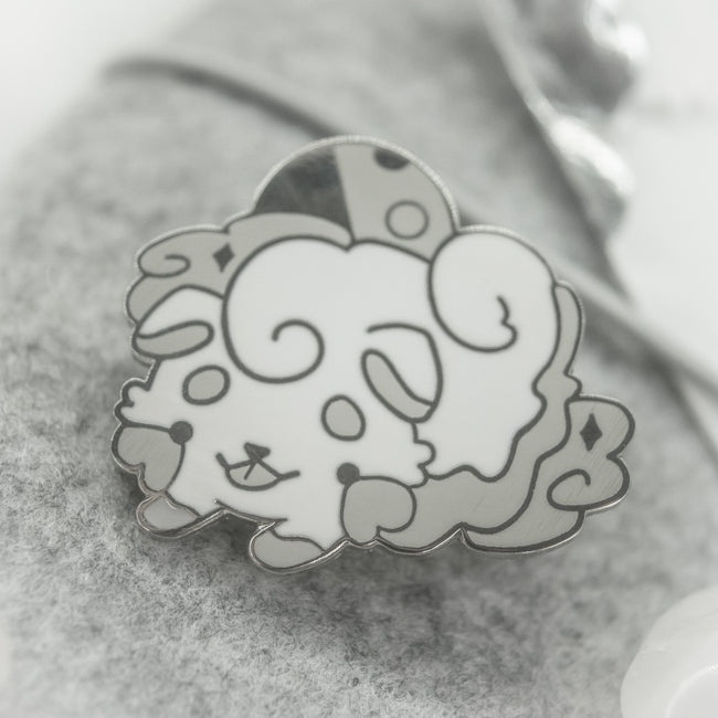 Puppy Cloud Pin