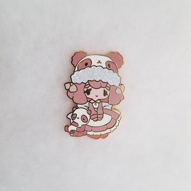 Sweetheart Panda Pin