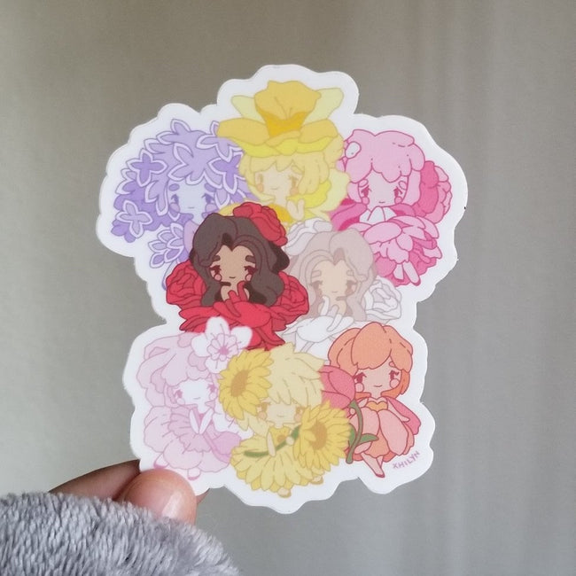 Flower Friends Sticker