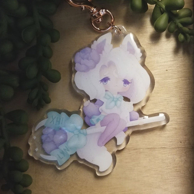 Witch Kitty Charm
