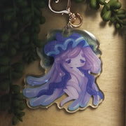 Jellyfish Girl Charm