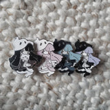 Purple Ghost Girl Pin - Limited Edition