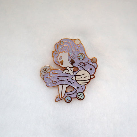 Purple Milky Way Pin - Limited Edition