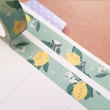 Lemon Kitty Washi Tape