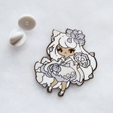 Winter Kitsune Pin - Limited Edition