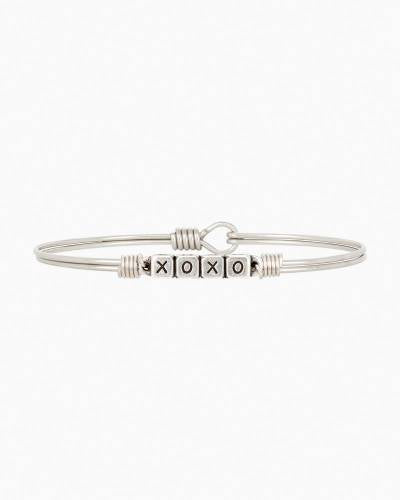 XOXO Blocks Bangle Bracelet