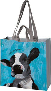 Market Tote Choose Happy Cow