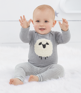 Adorable SHEEP 2-PC legging SET