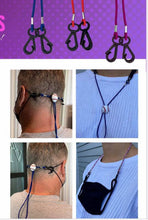 Load image into Gallery viewer, Mask Keeper Mask Cord  - Ear Saver Lanyard