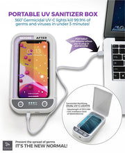 Load image into Gallery viewer, Portable UV Sanitizer Box by Travelon