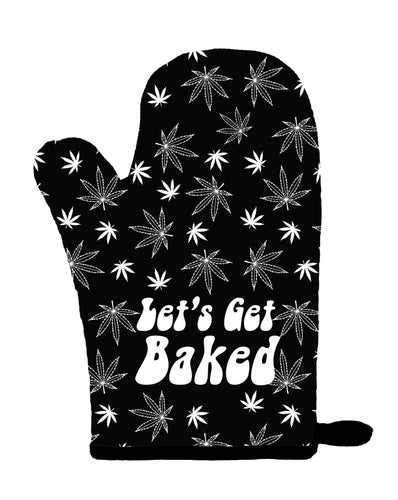 LET'S GET BAKED OVEN MITT