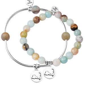 Cape Cod Charm Bracelets set of 2