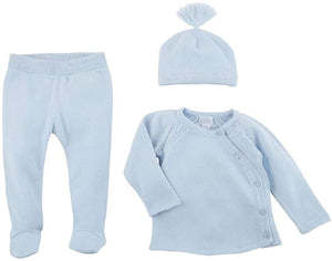 Baby Blue Cardigan set size 3-6 month