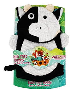RELAXUS Bath Mitt Friends Cow