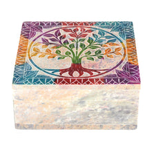 Load image into Gallery viewer, Tree of Life Soapstone box