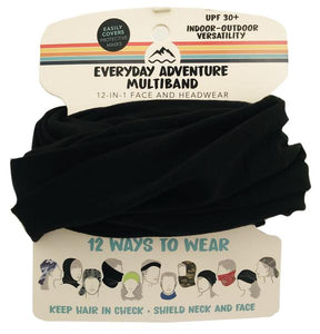 Everyday Adventure Multiband 12-IN-1 Face And Headwear